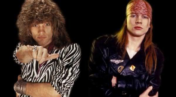 jon bon jovi entre as coisas que voce nao sabia sobre Guns N Roses