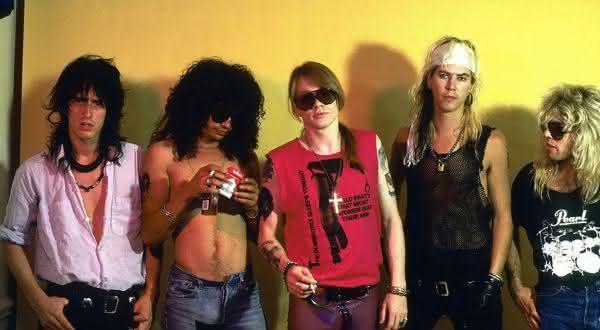 lugar do pecado entre as coisas que voce nao sabia sobre Guns N Roses