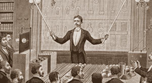 tocar pessoas entre as historias tragicas sobre a loucura de Nikola Tesla