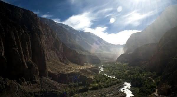 Cotahuasi Canyon entre os maiores canions do mundo