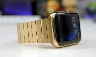 Gold Apple Watch entre os smartwatches mais caros do mundo