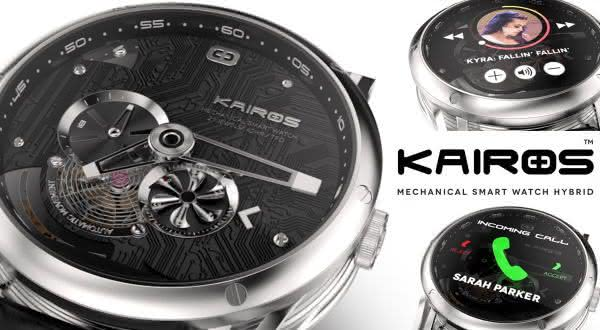 Kairos Hybrid Watch entre os smartwatches mais caros do mundo