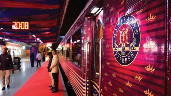 Maharajas Express 2 entre os trens mais luxuosos do mundo