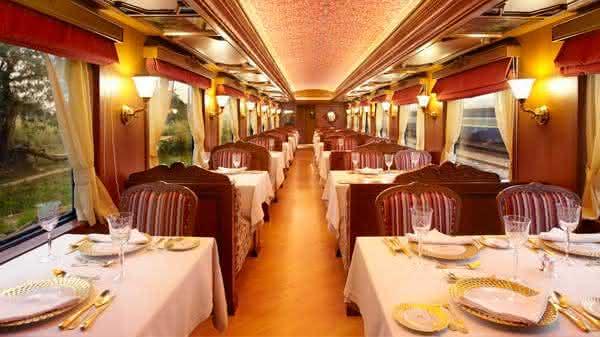 Top 10 trens mais luxuosos do mundo 10