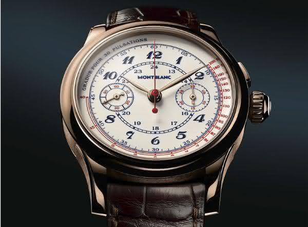 Montblanc Vintage Chronograph entre os relogios Montblanc mais caros de todos os tempos