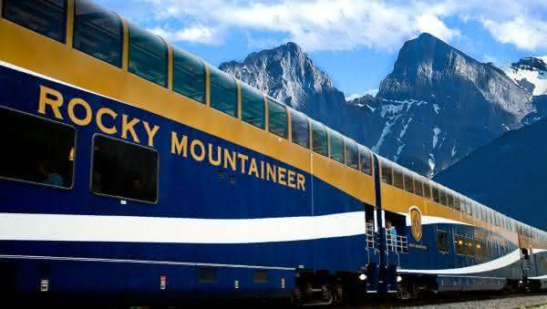 Rocky Mountaineer 2 entre os trens mais luxuosos do mundo