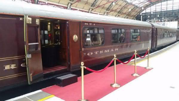 Royal Scotsman 2 entre os trens mais luxuosos do mundo