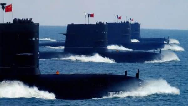 china entre as maiores marinhas do mundo