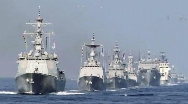 marinha da coreia do sul entre as maiores marinhas do mundo