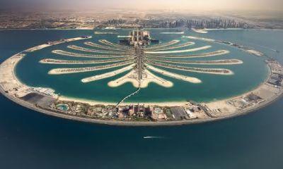 Palm Jumeirah entre as maiores ilhas artificiais do mundo