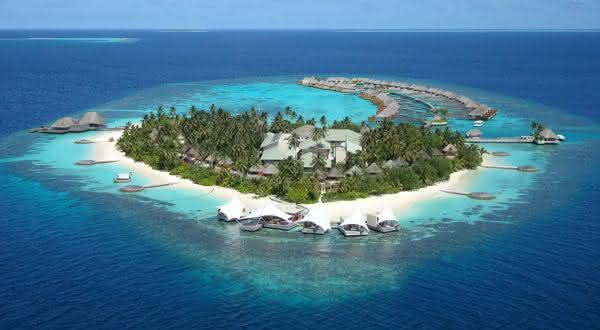 maldivas entre os paises com mais ilhas do mundo