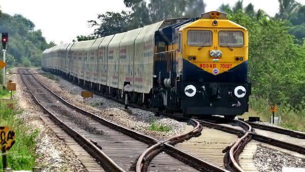 Maruti Railway entre os trens mais longos do mundo