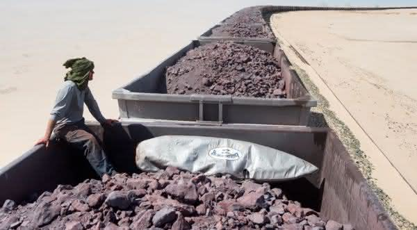 Mauritania Railway entre os trens mais longos do mundo