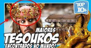 top 10 maiores tesouros encontrados do mundo