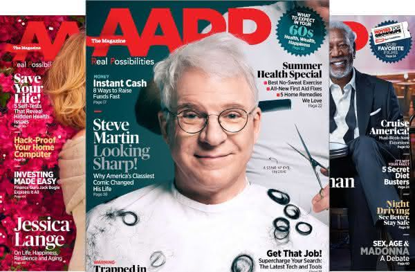 AARP entre as revistas mais vendidas do mundo