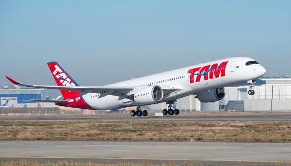 Airbus a350 XW entre os avioes de passageiros comerciais mais rapidos do mundo