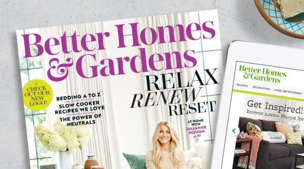 Better Homes Gardens magazine entre as revistas mais vendidas do mundo