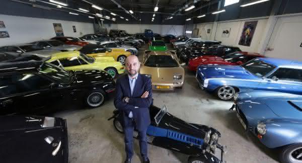 Top 10 maiores colecionadores de carro do mundo 1