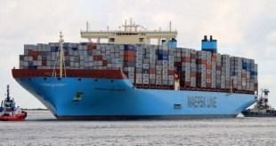 Maersk Mc-Kinney Moller entre as maiores embarcacoes do mundo