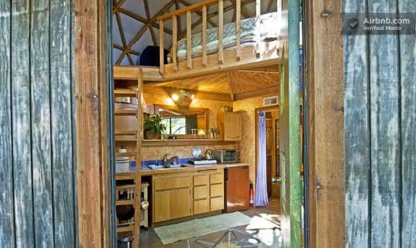 Mushroom Dome Cabin 2 entre os airbnb mais populares do mundo