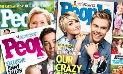 People entre as revistas mais vendidas do mundo