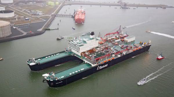 Pioneering Spirit entre as maiores embarcacoes do mundo