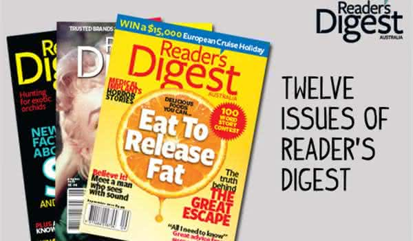 Readers Digest entre as revistas mais vendidas do mundo
