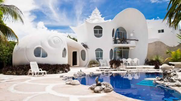 The Seashell House entre os airbnb mais populares do mundo