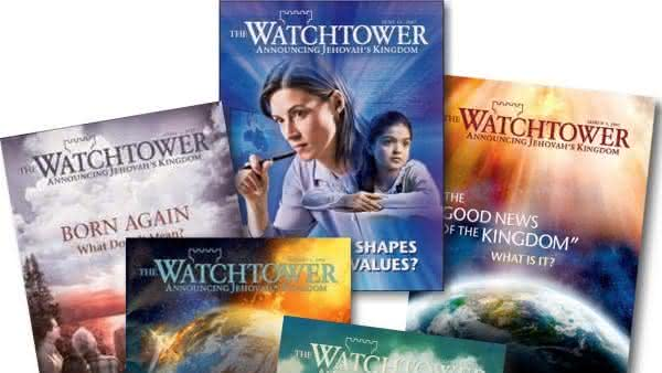 The Watchtower entre as revistas mais vendidas do mundo