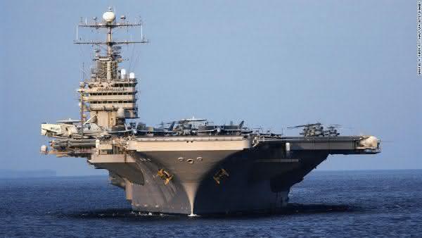USS Enterprise Class Carrier entre as maiores embarcacoes do mundo