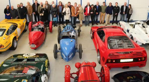 nick mansons entre os maiores colecionadores de carros do mundo