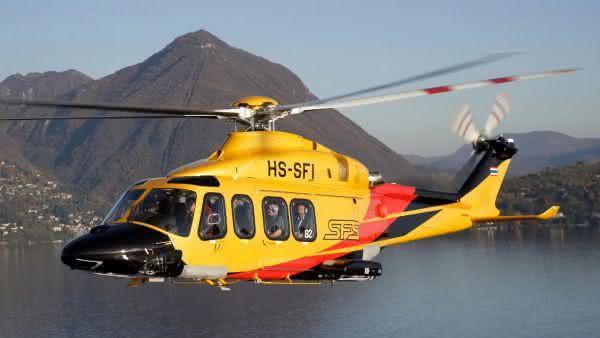 AgustaWestland AW139 entre os helicopteros mais caros do mundo