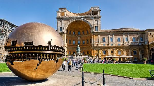 museu vaticano entre os maiores museus do mundo