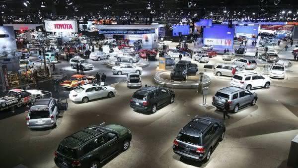 Chicago Auto Show entre as maiores feiras de automoveis do mundo