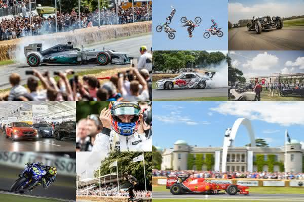 Goodwood Festival of Speed entre as maiores feiras de automoveis do mundo