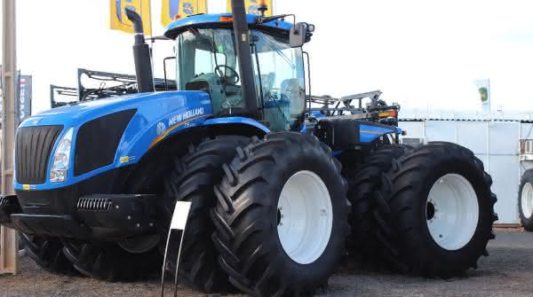 New Holland T9 entre os tratores mais caros do mundo
