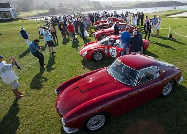 Pebble Beach Car Week entre as maiores feiras de automoveis do mundo