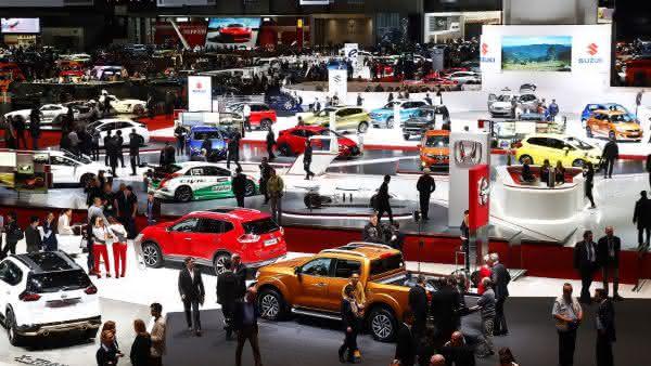 Salao Internacional do Automovel de Genebra entre as maiores feiras de automoveis do mundo