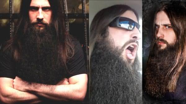 Sean Z entre as barbas mais longas do mundo