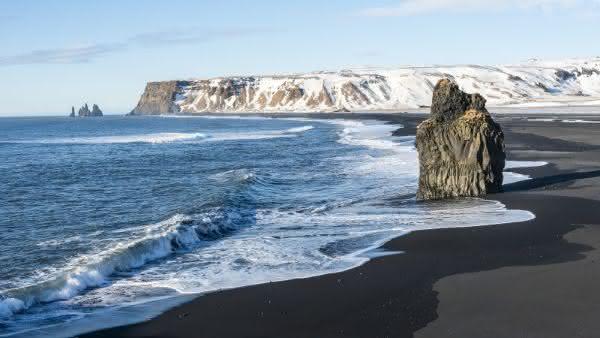 praia islandia entre as praias mais bizarras do mundo