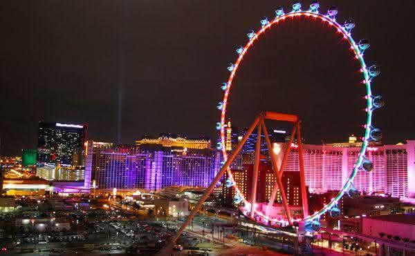 High Roller entre as maiores roda-gigantes do mundo