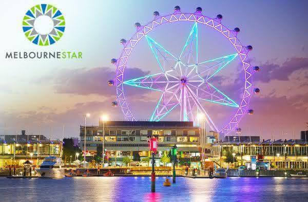 Melbourne Star entre as maiores roda-gigantes do mundo