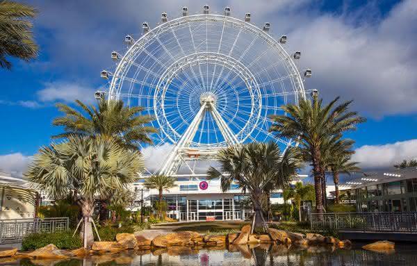 Orlando Eye entre as maiores roda-gigantes do mundo