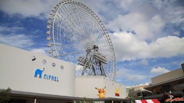 Redhorse Osaka Wheel entre as maiores roda-gigantes do mundo