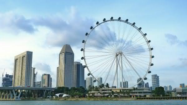 Singapore Flyer entre as maiores roda-gigantes do mundo