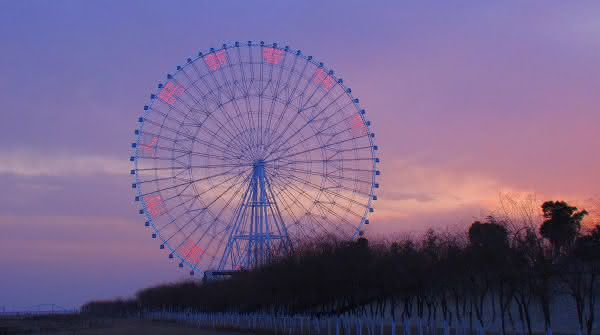Star of Nanchang entre as maiores roda-gigantes do mundo