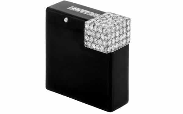 Cartier Dark Polish Lighter with Jewels entre os isqueiros mais caros do mundo