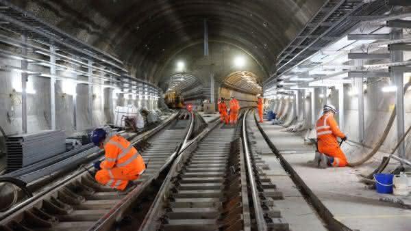 Crossrail entre os maiores projetos de construcoes no mundo