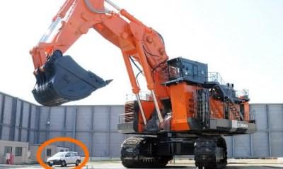 Hitachi EX8000-6 entre as maiores escavadeiras do mundo