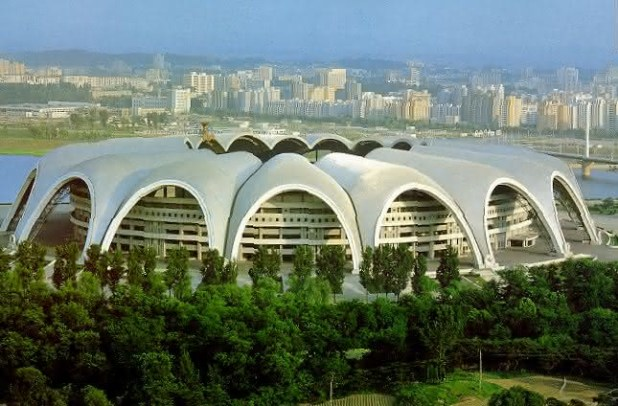 Maio Rungrado entre os maiores projetos de construcoes no mundo